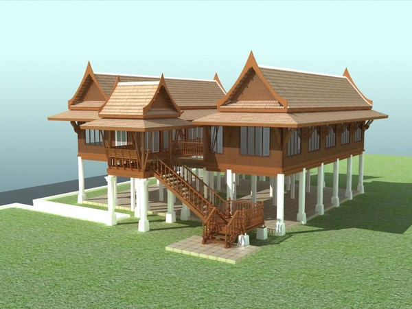 Thai House Roof Design Home Design And Style